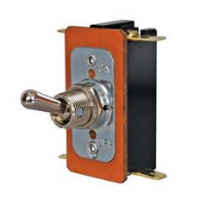 DURITE <BR> On/Off Double-Pole Heavy Duty Switch with Metal Lever <br>ALT/0-495-00